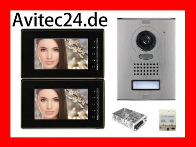 Sony-CCD-Video-Tuersprechanlage