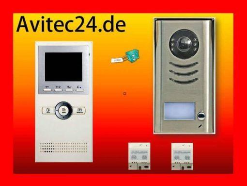 2-Draht-Video-Türsprechanlage-Gegensprechanlage