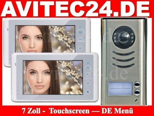 Videotuerprechanlage-DT592+2xDT27