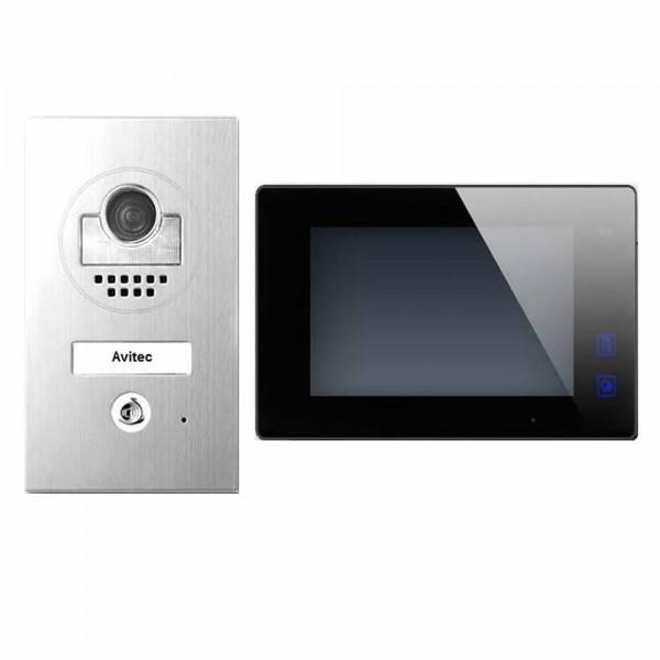 dt597 dt47m b videosprechanlage t ranlage video gegensprechanlage 2 draht avitec. Black Bedroom Furniture Sets. Home Design Ideas