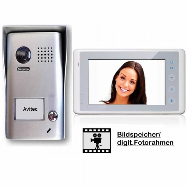 dt602 dt27w komb videosprechanlagen gegensprechanlagen klingel mit kamera monitor avitec. Black Bedroom Furniture Sets. Home Design Ideas