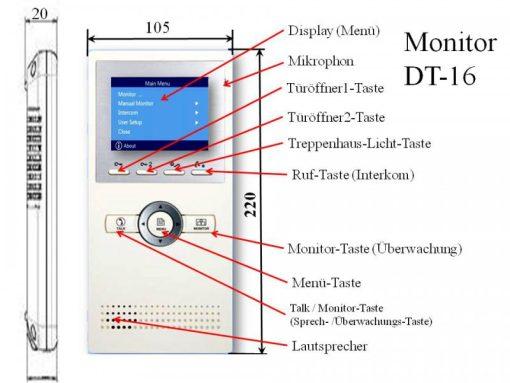 Innenstation-DT16-TechnischeDaten