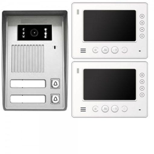 VT35b-und-2xVT810-Videosprechanlage