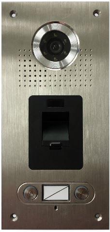 Video Türsprechanlage Fingerprint 2-Familienhaus Zweifamilienhaus ...